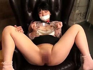 Alluring Asian schoolgirl gets the rough fucking she desires