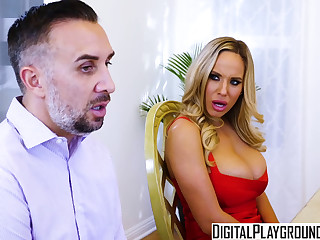 DigitalPlayground - Thanks giving Turkey Toss with Cherie Deville Keiran Lee Olivia Austin