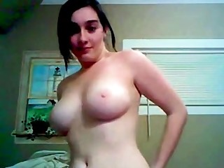 Lovely Teen show chunky tits
