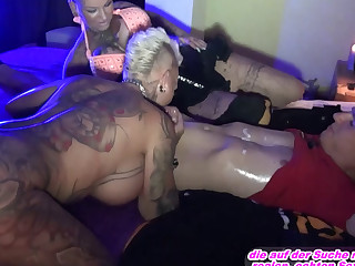 Real german hooker think the world of in whore-house