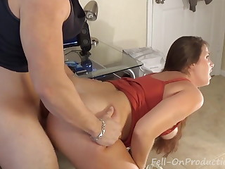 Stepmom Catches not son masturbating in One Prolong Time