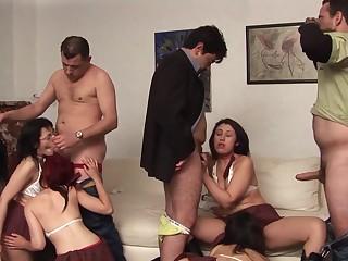 Licentious sluts sex party