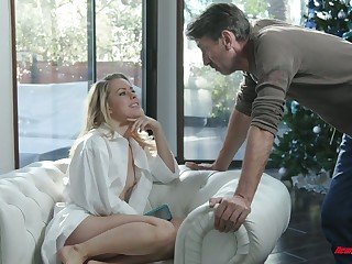 Captivating temptress Lilly Lit is eager for hard dick which belongs to say no to stepdad