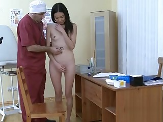 Asian Vaginal Probing From Doctor