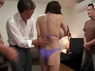 Very fat japanese tits loves orgy