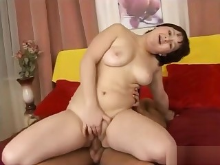 Innocent Looking Young Chubby Teen Riding Cock