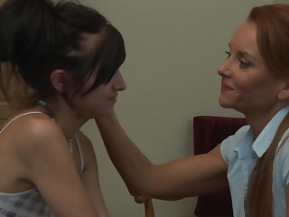 Janet Mason having time of her life close by Zoey Kush