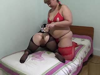 fatty, bonking hand ass girlfriend! anal fisting