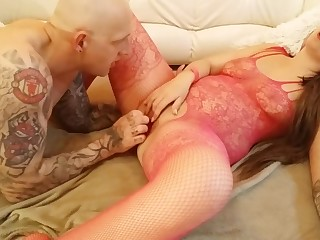 BIG Takings BUNNY GETS 69 PUSSYLICKING, DILDO FUCK, ASS FINGERING ORGASM