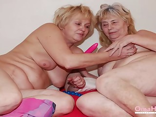 Oma Guest-house Got Some Toys for Horny Older Grannies