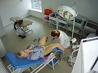 Hidden Snoop Cam - Gynecological Examination 01 - Young Venerable