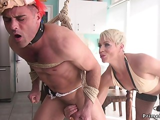 Auriferous Hair Girl Mom poolgirl had intercourse by partyboy