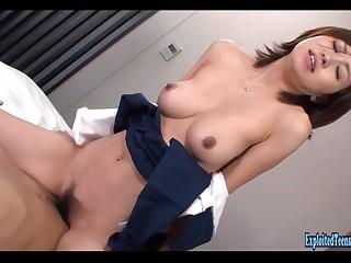 Jav Schoolgirl Rina Fucks Uncensored Big Tits And Rotund Exasperation Cosplay Hardcore Great Bush-leaguer