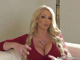 Dickcrazed pornstar's interview is to be sure ' fun to look forward that MILF is ergo much fun