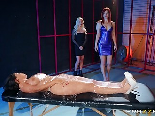 Crooked inverted membrane less torture - LaSirena69 and Molly Stewart