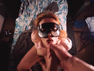 Counter POV BLOWJOB Plus PUSSY FUCK - CUM IN MOUTH - SHE swallowed