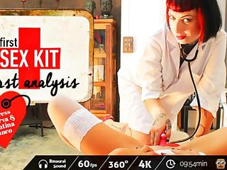 Valentina Bianco & Mistress Minerva with First-Sex Kit: First Analysis - VirtualPorn360