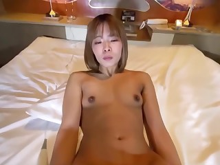 Mei 20 Year Old Shaved Slender Female College Pupil Even Close to H With My Boyfriend