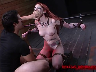 Oversexed Sheena Rose wants to try all sex machines and BDSM games