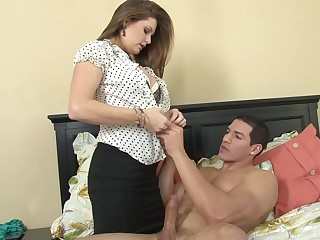 Natural special girlfriend Allison Moore loves having sex in doggy