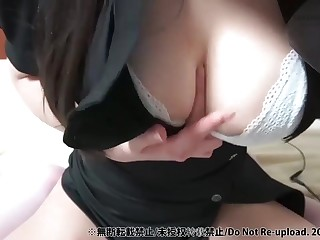 Big breast amateurish webcam ASMR