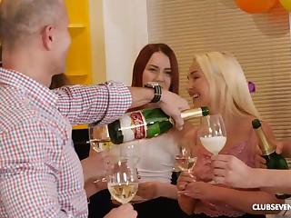 Crazy Birthday Party - Hot Sex Video