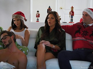 Christmastime stepbrother fuck be proper of young hottie Jane Wilde