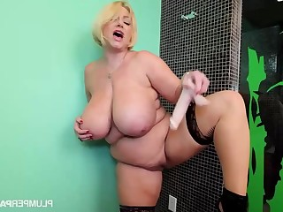 Samantha 38G - Sam Jam - solo fat adult